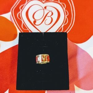 Brighton Red love charm spacer